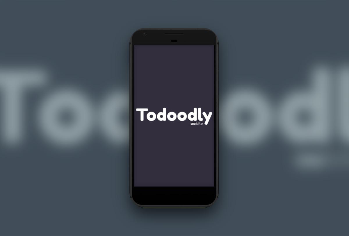 Todoodly App für Task und Todo Management