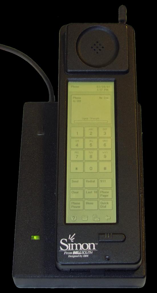 IBM Simon - Das erste Smartphone?